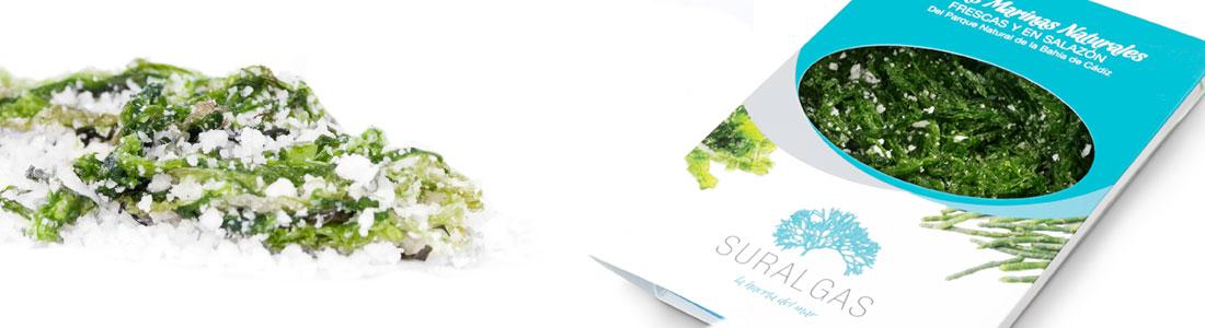 Aonori verde en salazón - Suralgas