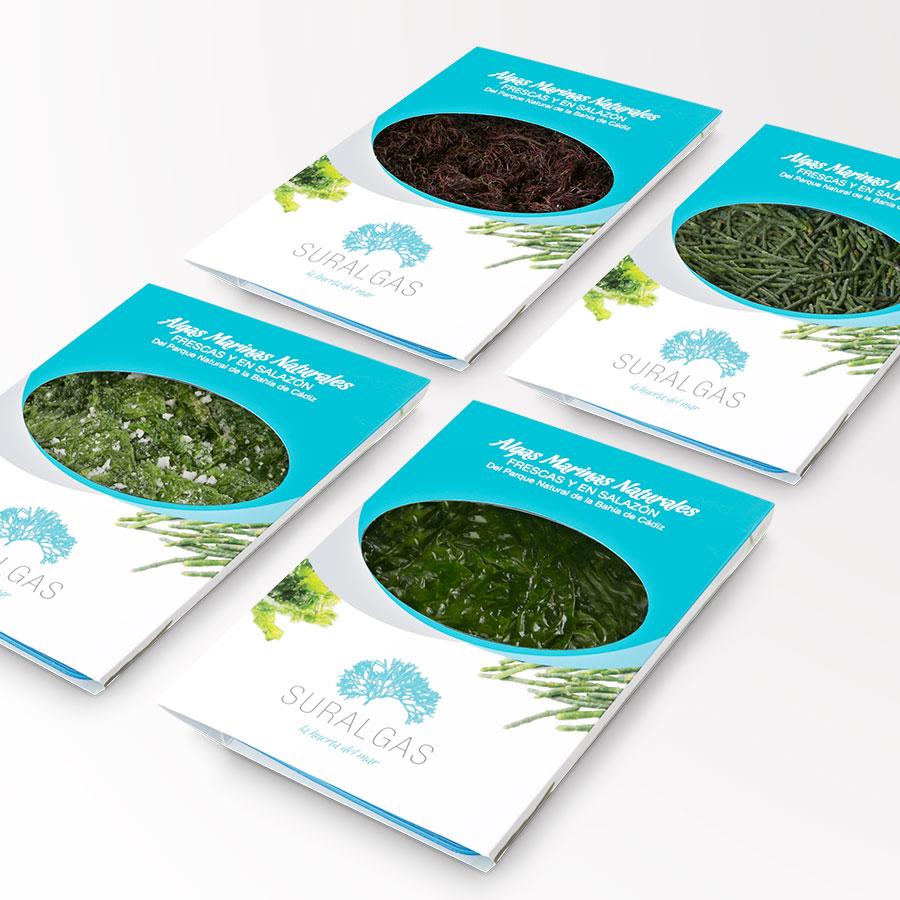 Envases de algas para restauración - Suralgas