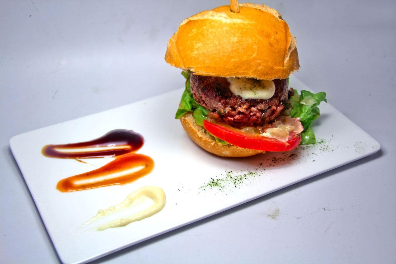 hamburguesa de algas