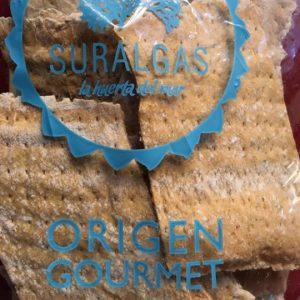 Crackers de algas